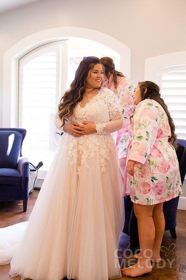 Usd 599 A Line V Neck Court Train Tulle Wedding Dress Ld4493