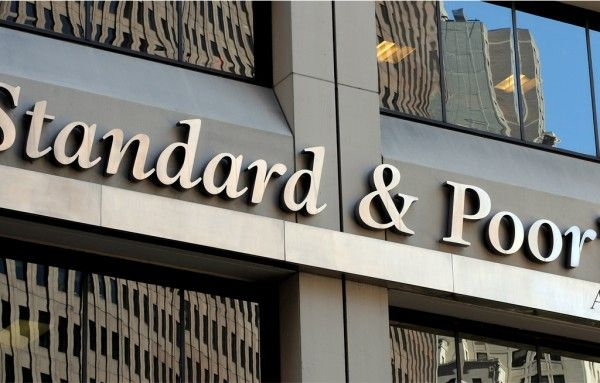 At triple B minus, one level above junk, and with a negative outlook, S&P's has the worst opinion of the country's credit rating.