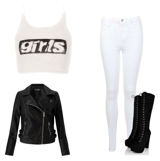 """""""Best Girl"""" by andibaba2004 ❤ liked on Polyvore featuring Miss Selfridge and Alexander Wang"""