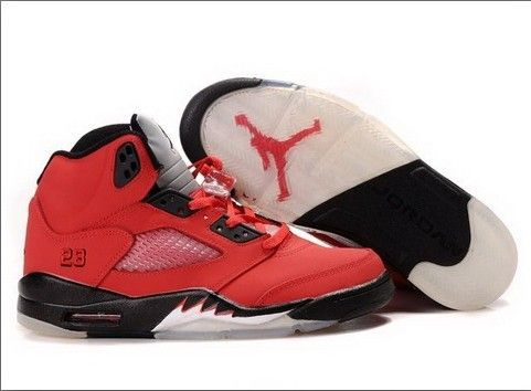 Air Jordan 5 Raging Bull Varsity Red Black