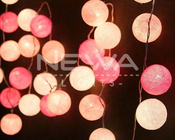 Pink String Lights Mesmerizing 169 Best Newa Lights Images On Pinterest  String Lights White Design Inspiration