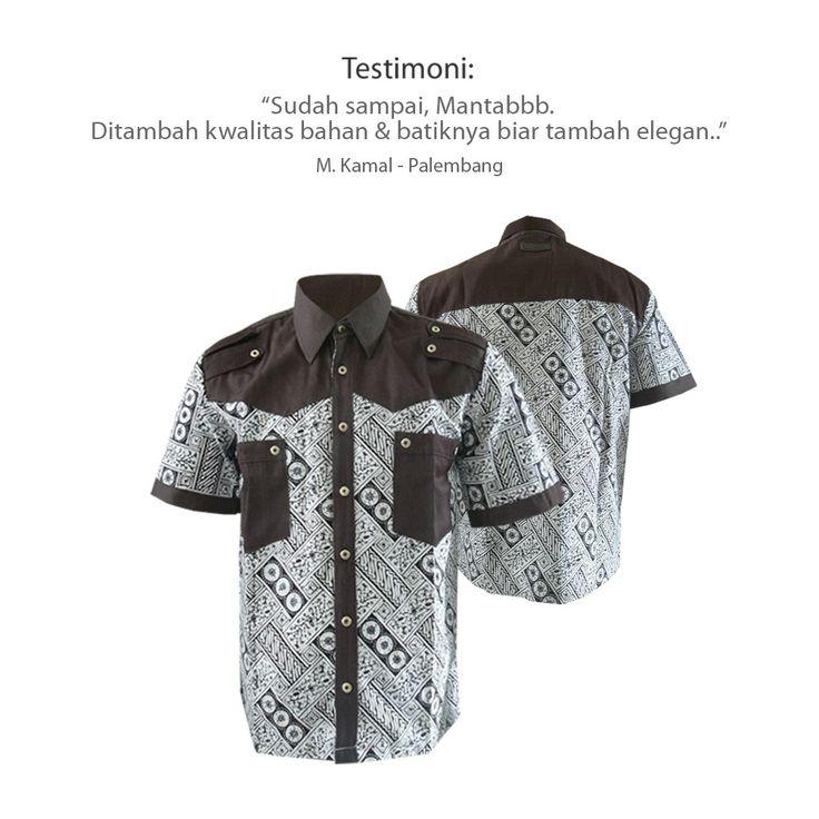 Kemeja batik Medogh... Mantabbb  #kemejabatikmedogh  http://medogh.com/baju-batik-pria/kemeja-batik-pria/Kemeja-Batik-HM-Prama