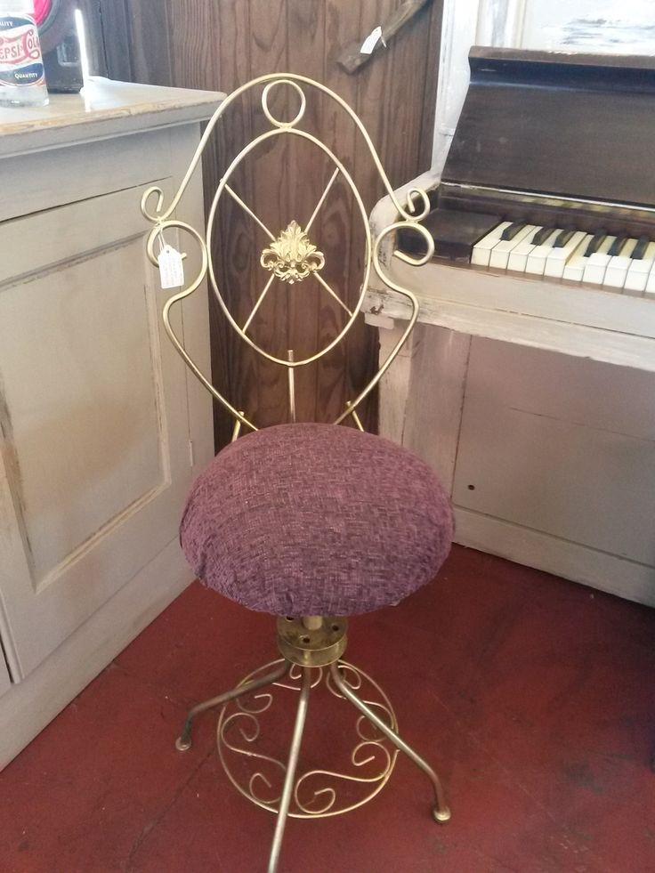 Powder room chair
