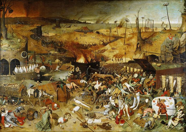 Pieter Bruegel the Elder - The Triumph of Death (1562)