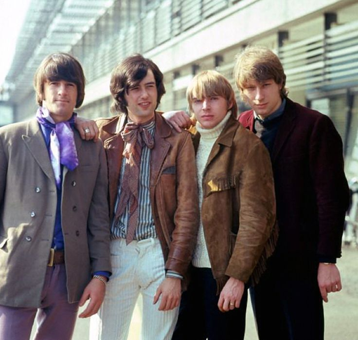 The Yardbirds — Jim McCarty, Jimmy Page, Keith Relf & Chris Dreja http//custard-pie.com