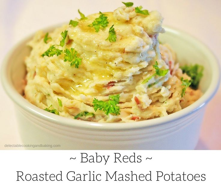 Creamy Roasted Garlic Mashed Potatoes Recipe at Delectable, www ...