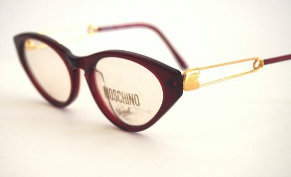 Eyeglasses frames Moschino by Persol Ratti mod. M03 Made in Italy, Ratti  industry Time period  1980 s Brand  Persol Model  Cat eye Materi…   i-wear    Pinte… 47e71f6793a1