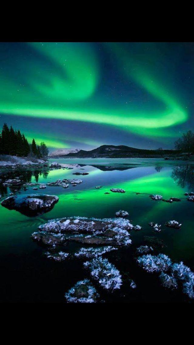 Sarki fény Alaszkában
