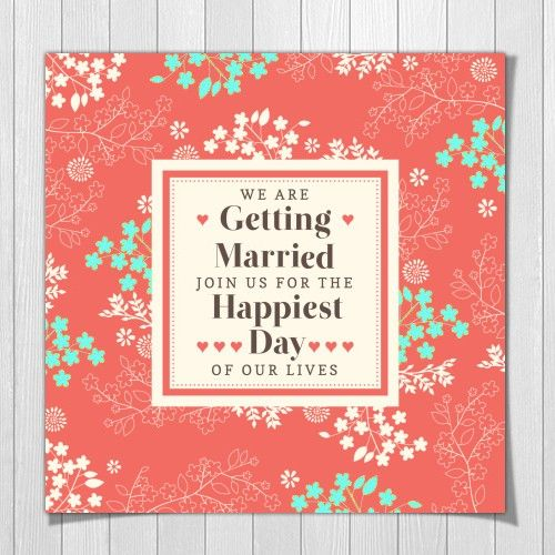 coral-and-turquoise-wedding-invitation-card.jpg (500×500)