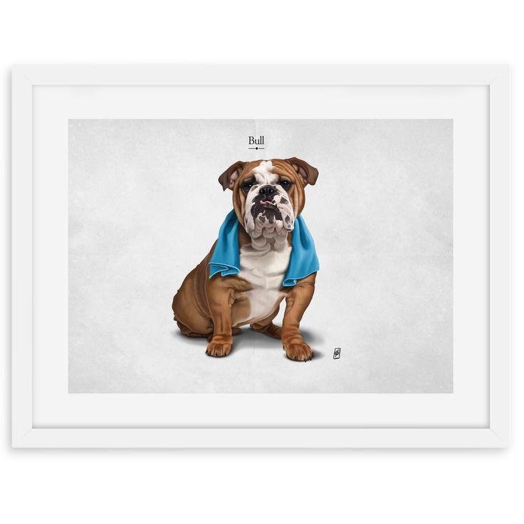 Bull art | decor | wall art | inspiration | animals | home decor | idea | humor | gifts