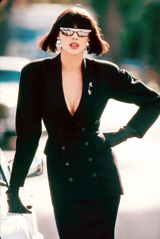 Shes looking uber 80s Haute style power Brigitte Nielsen Beverly Hills Cop 2