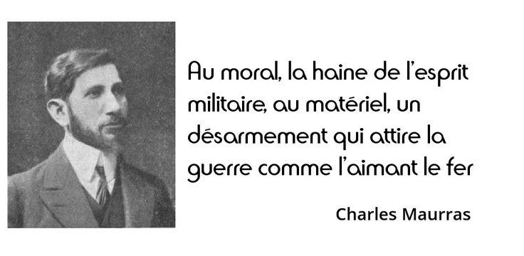 #16novembre 1952 : mort de Charles Maurras, écrivain d'extrême droite. Il sera hanté à vie par le souvenir de...