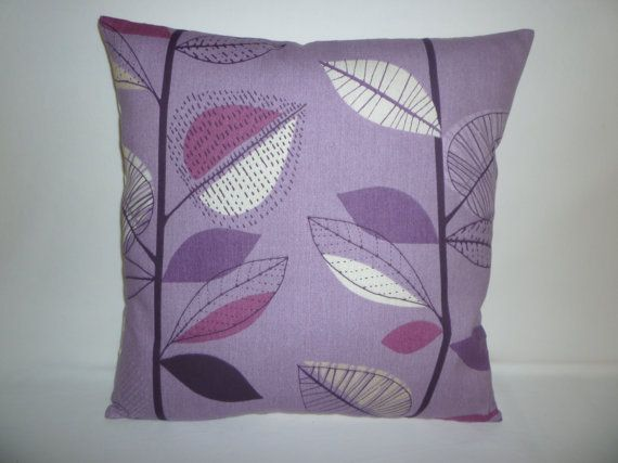 Purple Pillow Grape Designer Cushion Cover by WickedWalls on Etsy