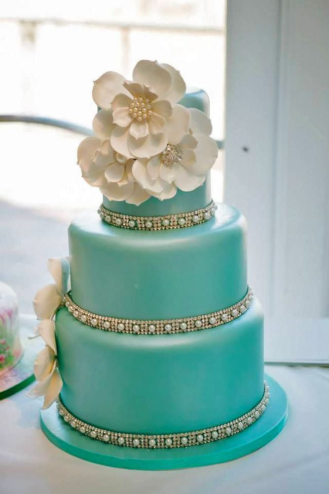 tiffany blue wedding cake ideas 1000 ideas about teal wedding cakes on teal 21000
