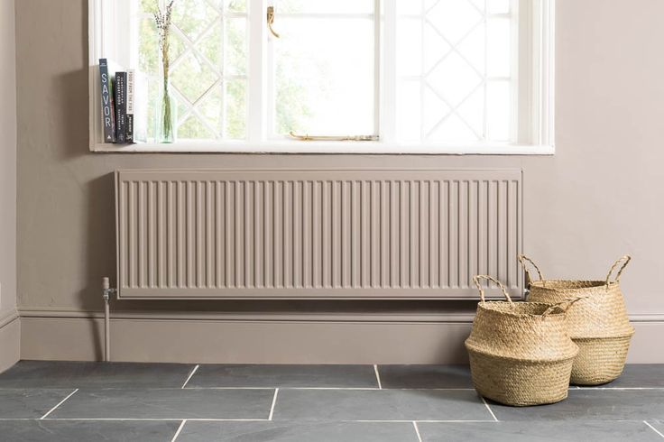 Our Brazilian Black Slate looks gorgeous against Farrow and Ball Charlston Grey paint
