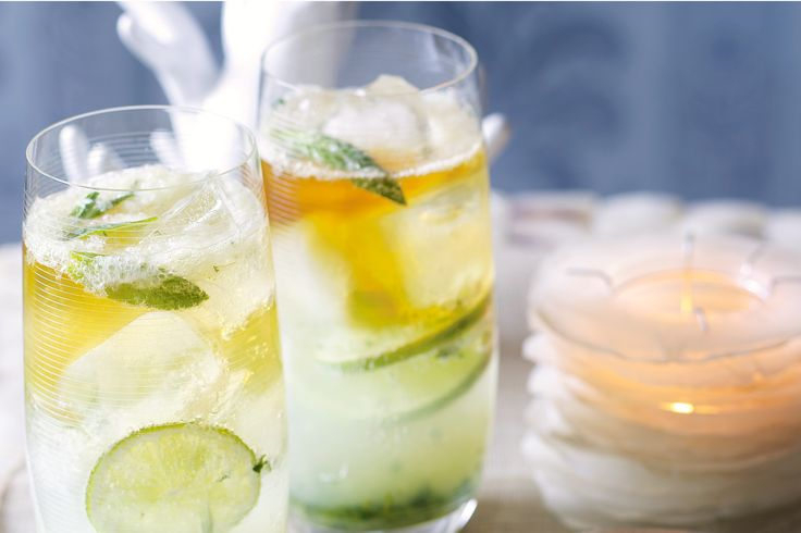 Refreshing Minted Pimm's Cooler