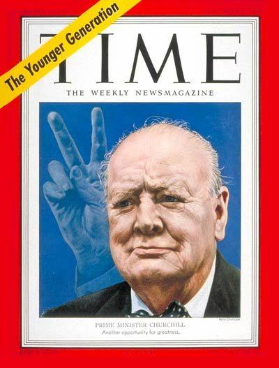 TIME Magazine Cover: Winston Churchill -- Nov. 5, 1951