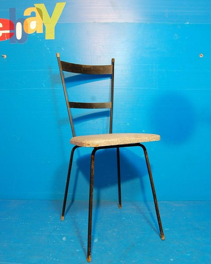 Sedia gambe a spillo anni 60  Vintage/Formica/Doro/chairs/Mid-Century