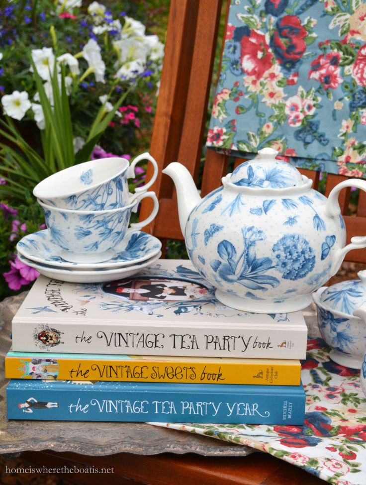The Vintage Tea Party Collection by Angel Adoree Giveaway | homeiswheretheboatis.net