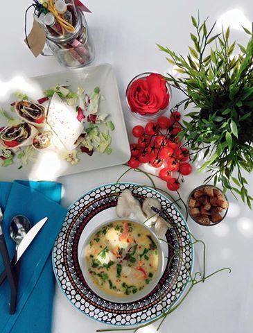 Supa de #ciuperci si #fajitas