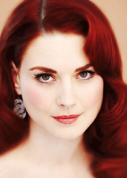 Alexandra Breckenridge- American.  Horror story and has been cast for the walking dead  xx