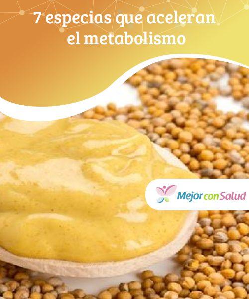 7 especias que aceleran el metabolismo