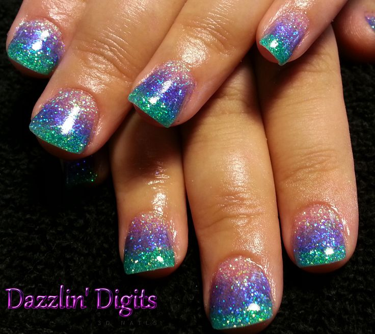 Gel on natural nail www.TheNailArtGirl.com (719) 439-8612 By Appointment Only