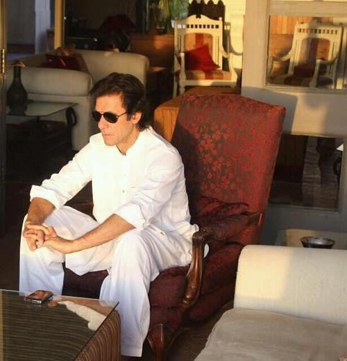 Mr Imran Khan of Pakistan...always cool