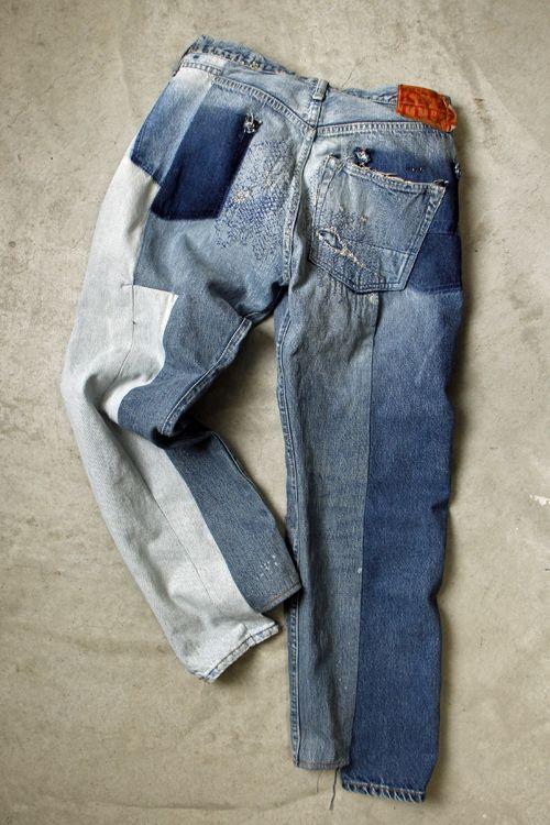 March 2015 KOUNTRY KAPITAL remake jeans denim play 8