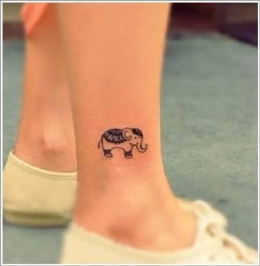 Resultado de imagem para elefantes tatuagens