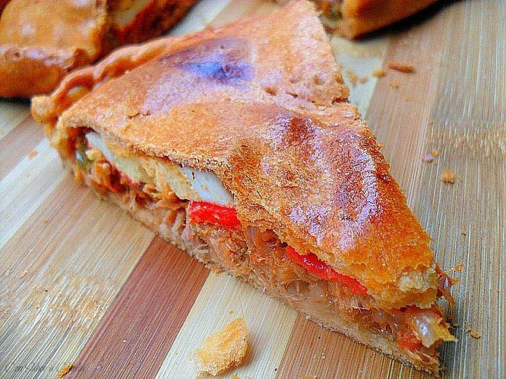 Con sabor a canela: Empanada gallega de atún (con masa de aceite del sofrito)
