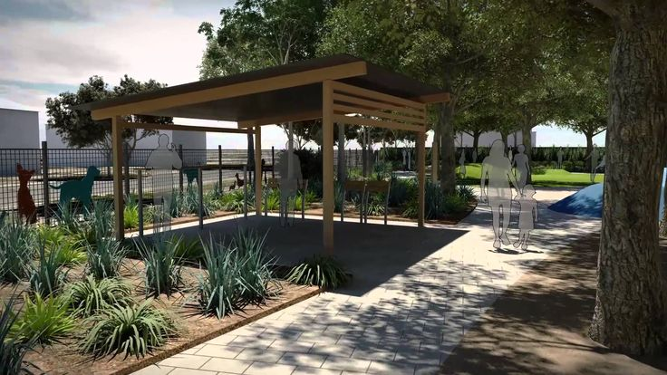 17 best images about dog park design on pinterest for Landscape architects in adelaide