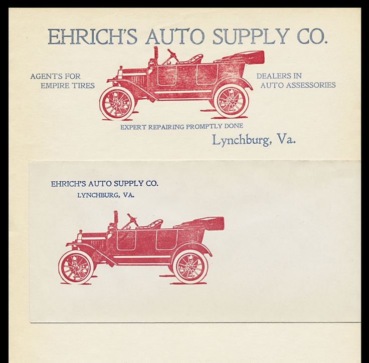 Ehrich's Auto Supply Company | Sheaff : ephemera