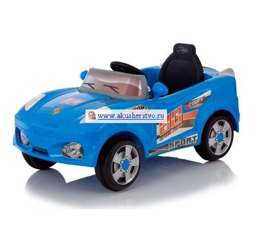 Электромобиль Jetem Coupe  Jetem (Capella) Coupe - мощный спортивный электромобиль на аккумуляторе. Рекомендована для детей от 1 года до 6 лет. Скорость движения - 5 км час. Для коррекции движения родителями - пульт дистанционного управления.  Особенности: один двигатель DC 6V, работающий от аккумулятора 6В, 4,5 а/ч пульт дистанционного управления питается от двух батареек типа АА 1,5V скорость движения 5 км/ч время работы аккумулятора 1-2 час, время зарядки аккумулятора 8-12 часов ремни…