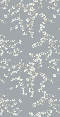 SPRING BRANCHES wallpaper By Helene Blanche