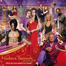 Get up close and personal with some of your favorite stars in Madame Tussauds Wax Museum at The Venetian.