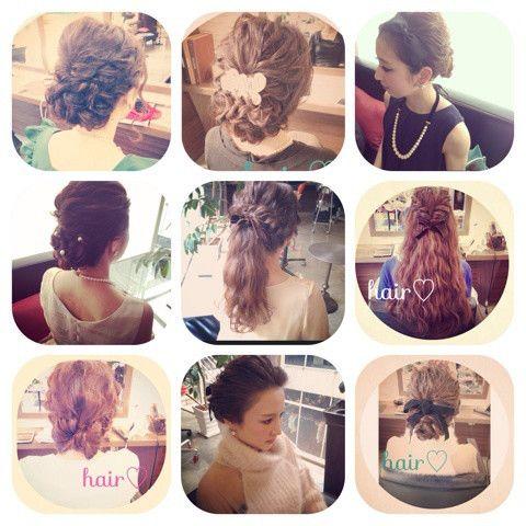 ウエディングヘアスタイル の画像 My Style