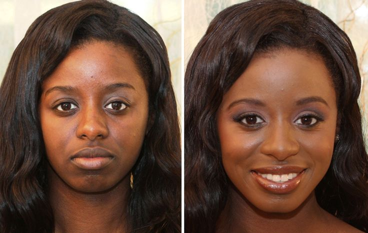 Before And After Makeup Black Women | ... Makeup Professional Eve Pearl Shares Her Before And ...