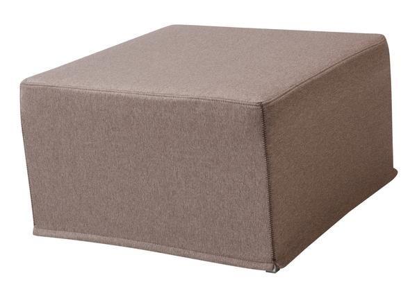 Ottoman sofa bed - interesting idea!