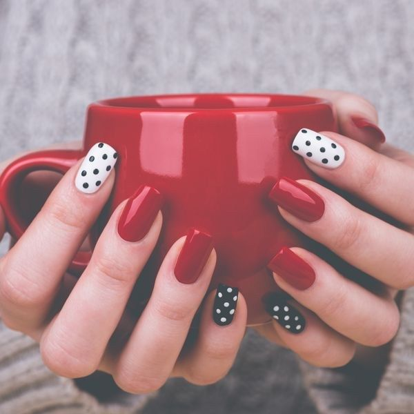 As melhores nail arts com esmalte vermelho - Moda it