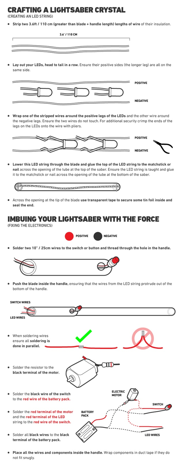 How to make your own Lightsaber Part 3