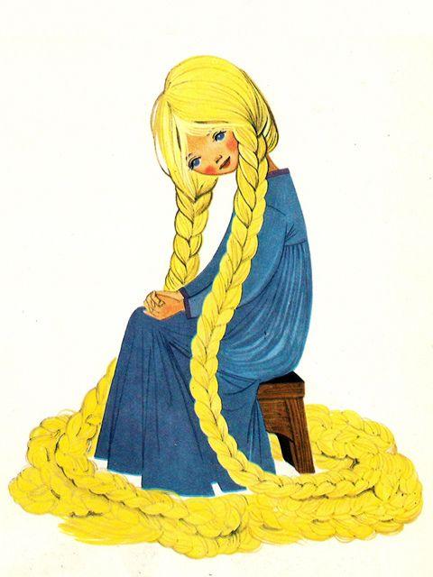 'Rapunzel' By Felicitas Kuhn [Pestalozzi Verlag] by aMJel, via Flickr