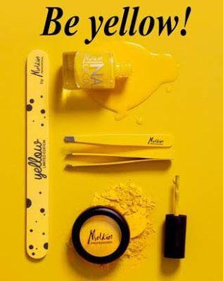 Color Me With Beauty: MELKIOR ne provoaca sa fim...YELLOW!