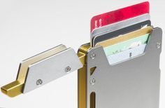 Cool Wallets - HFS Dial Slim Wallet Card Case by HFSDial — Kickstarter #thatseasier #wallets #cool