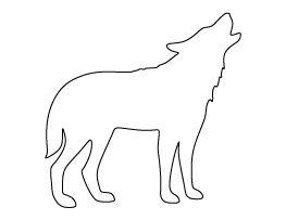 Howling Wolf Pattern