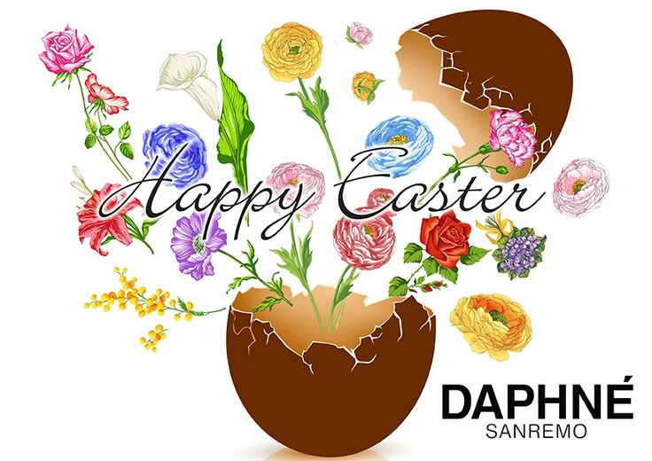 DAPHNÉ wish everyone an Happy Easter! #happyeaster #easter2016 #easteregg #chocolate and #flowers #inspiration #fashion #DAPHNÉ