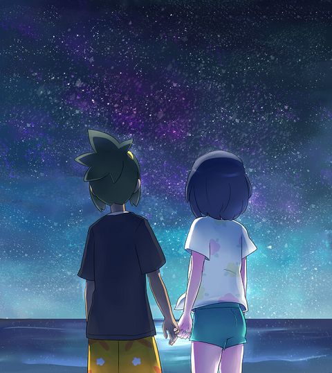 Hau & Moon   Best Friends