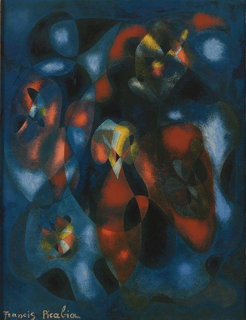 Francis Picabia: Composition abstraite, c.1938.