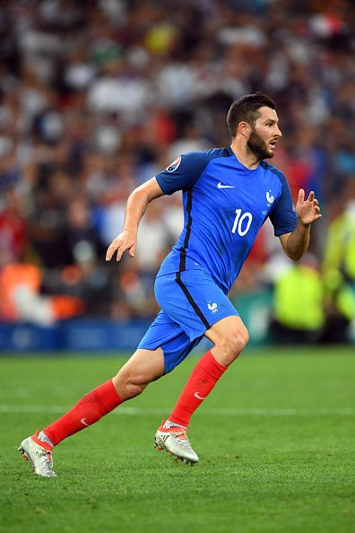 #EURO2016 Andre Pierre GIGNAC of France during the Uefa Euro Semi final between France and Germany at Stade Velodrome on July 7 2016 in Marseille France