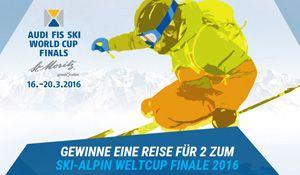 Gewinne mit Jack-Wolfskin und ein wenig Glück eine Reise zum Ski-Weltcup Finale in #StMoritz, inkl. Skipass und Tickets. Ausserdem kannst du 4 x einen Einkaufsgutschein zu je CHF 100.- gewinnen. http://www.alle-schweizer-wettbewerbe.ch/gewinne-eine-reise-zum-ski-alpin-weltcup-finale/